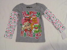 NEW GIRLS THE MUPPETS CHRISTMAS HAPPY HOLIDAYS 24M 24 MONTHS LONG SLEEVE SHIRT