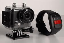 MeCam X Waterproof HD Video Camera High Def 1080p Action Camera LCD Screen