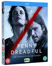 Penny Dreadful Complete Series 2 Blu Ray All Episode Second Season UK Rel NEW