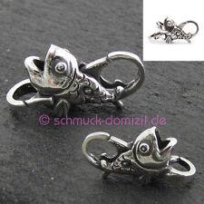 NEU - TROLLBEADS Silber Verschluss Fisch - Fish - TAGLO-00042