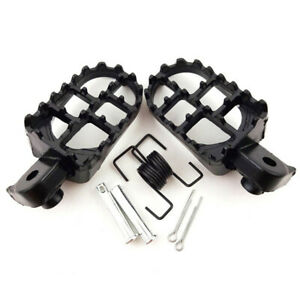 Motocycle Foot Pegs Footrest For For Yamaha PW50 PW80 TW200 Honda CR CRF XR 50 *