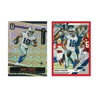 Amari Cooper Dallas Cowboys Panini NFL 2019 Parallel/Insert 2 Card Set