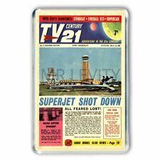 THUNDERBIRDS TV 21 COMIC COVER #8 JUMBO FRIDGE MAGNET-(Watermark not on magnet)