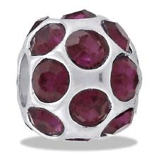 DaVinci Bead Febuary Cz Birthstone Ball Db32-1 Buy 2 or More DaVinci Save 10%