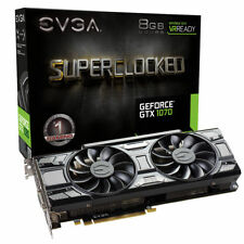 EVGA GeForce GTX 1070 SC Black Edition 8GB Video Graphics Card 08G-P4-5173-KR