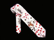 Brand New!! BICYCLE CARDS Magician's Polyester Tie