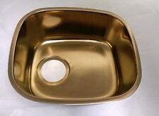 Franke Elements Series One Bowl Undermount Sink CPM-110BZ Titanium Bronze NEW