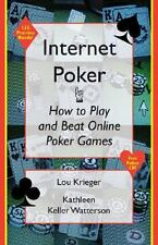 NEW - Internet Poker: How to Play and Beat Online Poker Games
