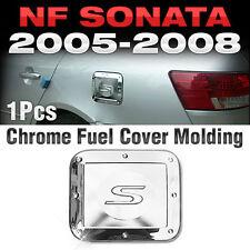 Chrome Fuel Gas Cap Cover Garnish Molding Trim for HYUNDAI 2006 - 2008 NF Sonata