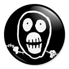 "Mighty Boosh Skull 25mm 1"" Pin Badge Button Noir Moon Pop Art"