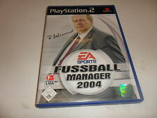 PlayStation 2  PS 2  Fussball Manager 2004 -