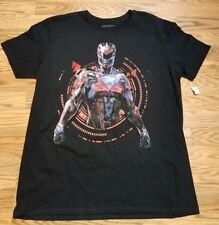 Mighty Morphin Power Rangers Red Ranger Men's Large Shirt Fast Shipping