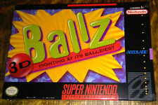 Ballz 3D (Super Nintendo Entertainment System) SNES brand-new, factory sealed