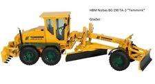 HBM Nobas BG190TA-3 Motor Grader Temmink NZG 1:50 Metall #638/03