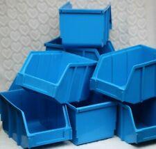 INTERBIN BLUE X9 GARAGE/WORKSHOP HOME STORAGE BINS