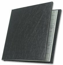 Executive Checkminder Checks Cover (Black