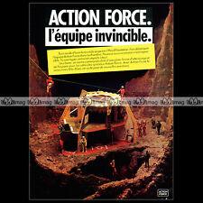 ACTION MAN ACTION FORCE 'Headquarters' Palitoy 1982 - Pub / Publicité / Ad #A29
