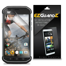 2X EZguardz LCD Screen Protector Cover HD 2X For Caterpillar CAT S40 (Clear)