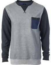 RIP Curl Crew Sweater suéter Rapture gris/azul/antracita hombre nuevo