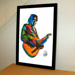 Jeff Buckley Singer Guitar Rock Music Poster Print Wall Art 11x17