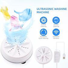 Mini Travel Portable Washing Machine Ultrasound Turbo Washer Laundry