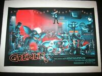 Gremlins Print Poster Vance Kelly Mondo artist Blacklight Inks Ltd Edition x/425