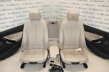 BMW F30 Sport Leather Seats Sitze Sportsitze Lederausstattung Dakota Oyster