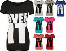 T-shirt, maglie e camicie da donna a manica corta multicolore grafici