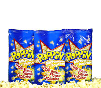 Poppin Microwave Popcorn Triple Butter Flavour Explosion 100g Movies Kids Snack
