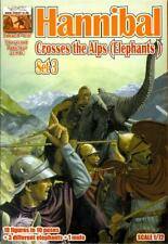 Linear B Models 1/72 HANNIBAL CROSSES THE ALPS with ELEPHANTS Figure Set