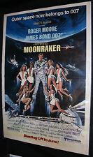 Moonraker Movie Poster - Roger Moore James Bond 007 (C-7) 1979