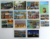 13 x ISRAEL Lot AK ungelaufen, Postcards unused, ua. Tel Aviv, Eilat, Dead Sea