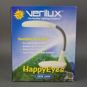 "Verilux Seasonal Affective Natural Daylight ""Happy Eyes"" Gooseneck Desk Lamp"