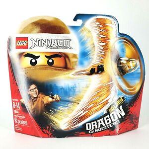 Lego 70644 Ninjago Golden Dragon Masters Of Spinjitzu 92pc NEW Air Spinner