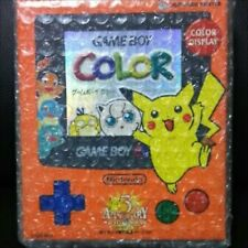 Pokemon Limited 3rd Anniversary Ver. NINTENDO Game Boy Color Orange & Blue NEW