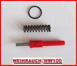 Fast Flow Exhaust Valve Stem & Spring Set for WEIHRAUCH HW100 / hw101
