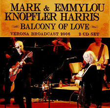 BALCONY OF LOVE (2CD)  by MARK KNOPFLER & EMMYLOU HARRIS  Compact Disc Double