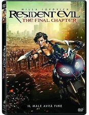 Dvd RESIDENT EVIL - The Final Chapter (2016) *** Contenuti Speciali ***....NUOVO