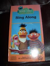 *NEW* SEALED! VHS SESAME STREET Sing Along VHS **SUPER RARE* VINTAGE COLLECTIBLE
