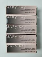 Lot of 5 Mary Kay Nourishine Plus Lip Gloss - 5 Different Colors - Brand New