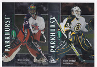 02-03 Parkhurst Steve Shields /100 BRONZE Parallel Bruins 2002
