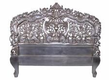 Sale - Bed Head King Rococo Hand Carved Silver Leaf SRP $1700