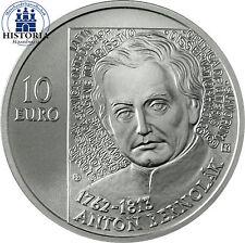 Slowakei 10 Euro Silber 2012 stgl.  Anton Bernolák in Münzkapsel