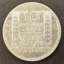 FRANCE - 10 FRANCS TURIN 1937 - RARE!!!!