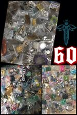 60 bags Beads & Findings Huge Assortment Jewelry Making Supplies🖤Amazing Lot 💰