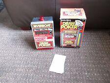 Vintage Radio shack Riverboat Draw Poker ahorros en caja con instrucciones