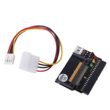 "3-LED Indicators Compact Flash CF SSD To 3.5"" 40 pin ATA IDE Adapter New"