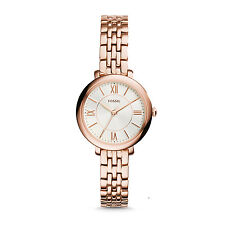 FOSSIL ES3799 Jacqueline Mini Rose Gold Tone Stainless Steel 26mm Women's Watch