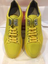 Salvatore Ferragamo men leather sneakers''Lisbo na 4''Size-11.5Ee