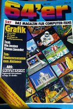 64er (64´er) 05/87 Mai 1987 C64 Commodore (Grafik, Floppy-Speeder)